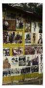 Photos Mexican Revolution Street Photographer's Shed Nogales Sonora Mexico 2003 Beach Towel