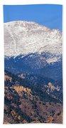 Pikes Peak Beach Towel