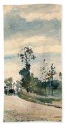 Pissarro Louveciennes Beach Towel