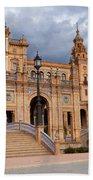 Plaza De Espana Pavilion In Seville Beach Sheet