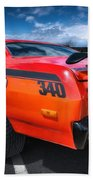 Plymouth Duster 340 Beach Towel