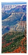 Point Imperial 8803 Feet On North Rim Of Grand Canyon National Park-arizona  Beach Towel