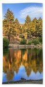 Golden Pond Beach Towel