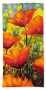Poppy Corner Beach Towel