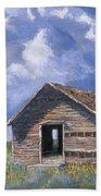 Prairie Church Beach Towel by Jerry McElroy