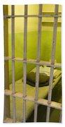 Prison Cell Alcatraz Island Beach Towel