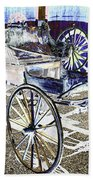 Psychedelic Old Surrey 1 Beach Towel