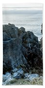 Punakaiki Pancake Rocks Beach Towel
