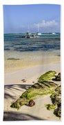 Punta Cana Beach Beach Towel
