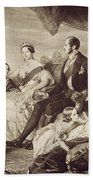 Queen Victoria & Family Beach Sheet