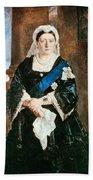 Queen Victoria Of England (1819-1901) Beach Towel