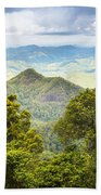 Queensland Rainforest Beach Towel
