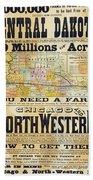 Railway Poster, 1870s Beach Sheet