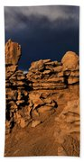 Rainbow And Sandstone Formations Fantasy Canyon Utah Beach Towel