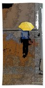 Rainy Days And Mondays Beach Towel by David Bearden