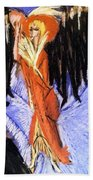 Red Cocotte Beach Towel
