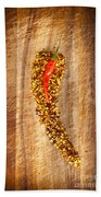 Red Hot Chilli Concept Beach Towel
