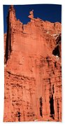 Red Rock Fisher Towers Beach Towel