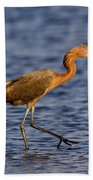 Redish Egret Beach Towel
