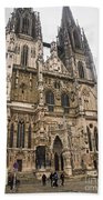 Regensburg Cathedral Beach Towel