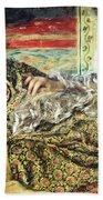 Renoir's Odalisque Beach Towel