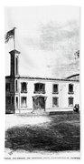 Republican Convention, 1860 Beach Towel
