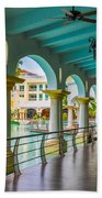 Resort In Dominican Republic Beach Towel
