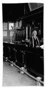 Reverse Angle Interior Cabinet Saloon 68 W. Congress Tucson Arizona 1910 Beach Towel