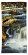 River Rapids Beach Towel by Elena Elisseeva