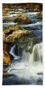 River Rapids Beach Towel