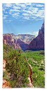 River Through Zion Beach Towel
