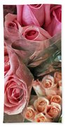 Roses For Sale Beach Towel