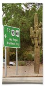Route 66 - Kingman Arizona Beach Towel