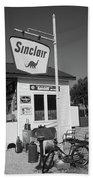 Route 66 - Sinclair Station Beach Towel