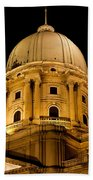 Royal Palace Dome In Budapest Beach Towel