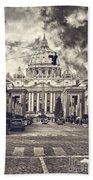Saint Peters Basilica Rome Beach Towel