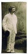 Samuel Langhorne Clemens (1835-1910) Beach Towel