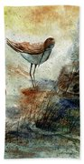 Sand Pipers Beach Towel