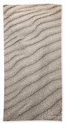 Sand Ripples Abstract Beach Towel