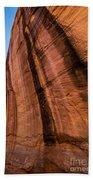 Sandstone Varnish Cliff - Coyote Gulch - Utah Beach Towel