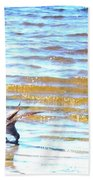 Sea Bird Beach Towel