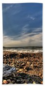 Sea Shell Sea Shell By The Sea Shore At Presque Isle State Park Series Beach Towel