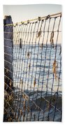 Seaside Nets Beach Towel