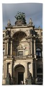Semper Opera Dresden Germany Beach Towel