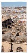 Seville Cityscape Beach Towel