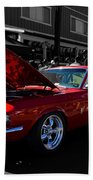Shelby Gt 500 Mustang Beach Towel