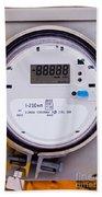 Smart Grid Residential Digital Power Supply Meter Beach Towel