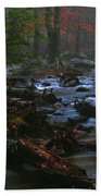 Smoky Mountain Color Beach Towel