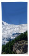 Snow Glacier Beach Towel