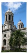 St Johns Cathedral Antigua Beach Towel
